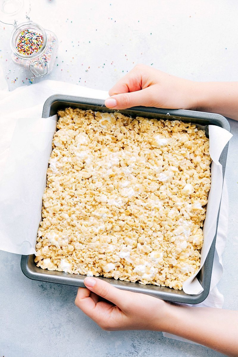 The ultimate BEST EVER Rice Krispies Treats! Read the rave reviews!! I chelseasmessyapron.com
