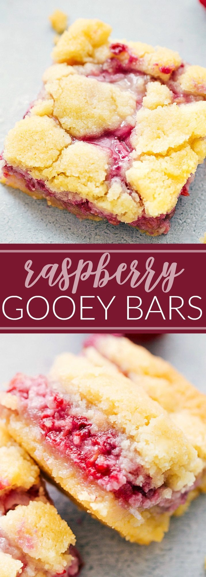 The fastest thing gone at a party!! The EASIEST raspberry gooey butter bars I chelseasmessyapron.com