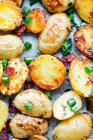 Roasted Ranch Potatoes & Bacon