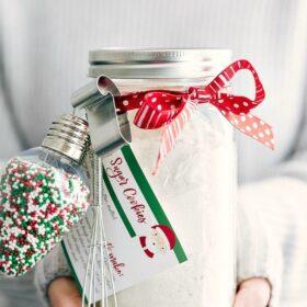 Mason Jar Sugar Cookies