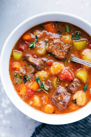 Crockpot Beef and Gnocchi Stew