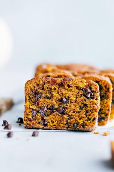 The BEST Pumpkin Bread (Mini or Full Sized Loaves)