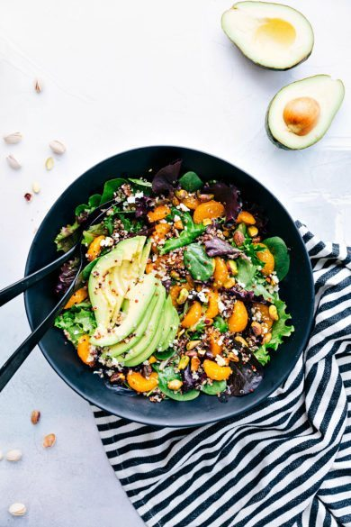 Avocado Orange Quinoa Salad