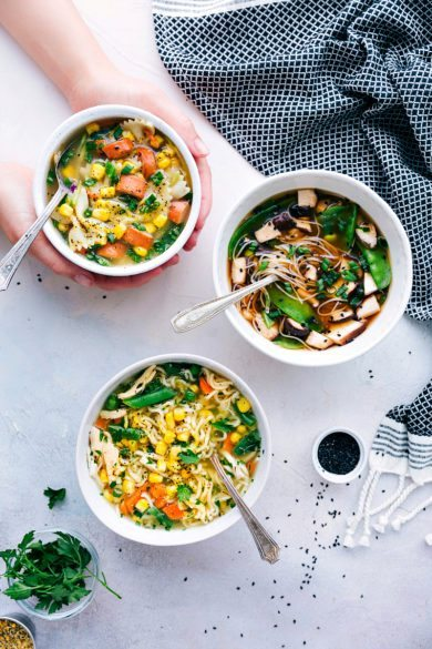 Make Ahead Cup of Noodles (3 ways)