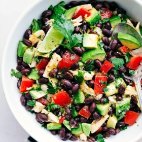 Mexican Avocado Chicken Salad
