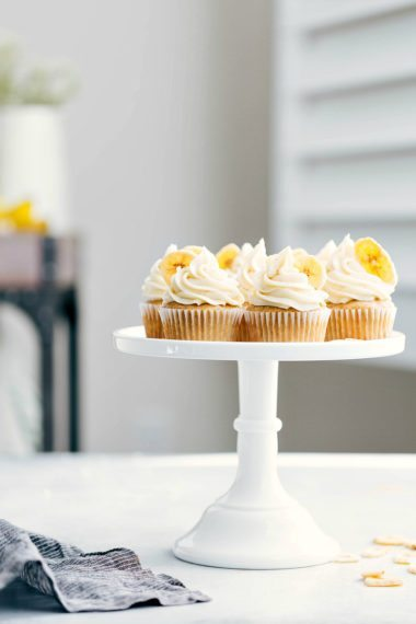 Banana Cupcakes (Best EVER!)