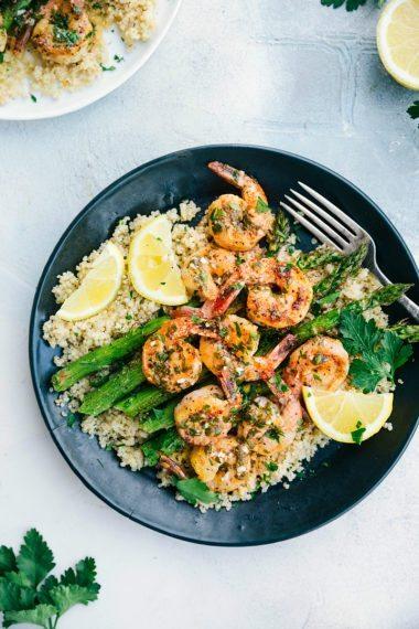 Easy Lemon Garlic Shrimp