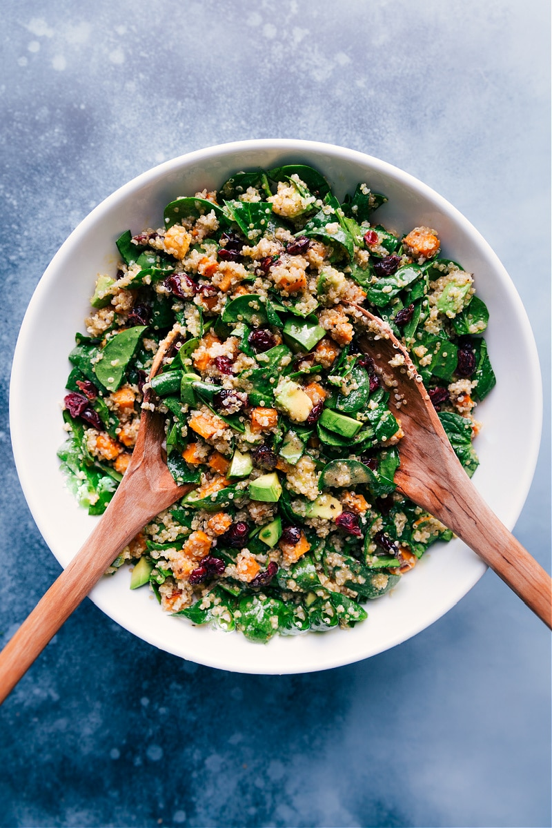Sweet Potato Quinoa Salad Chelsea S Messy Apron