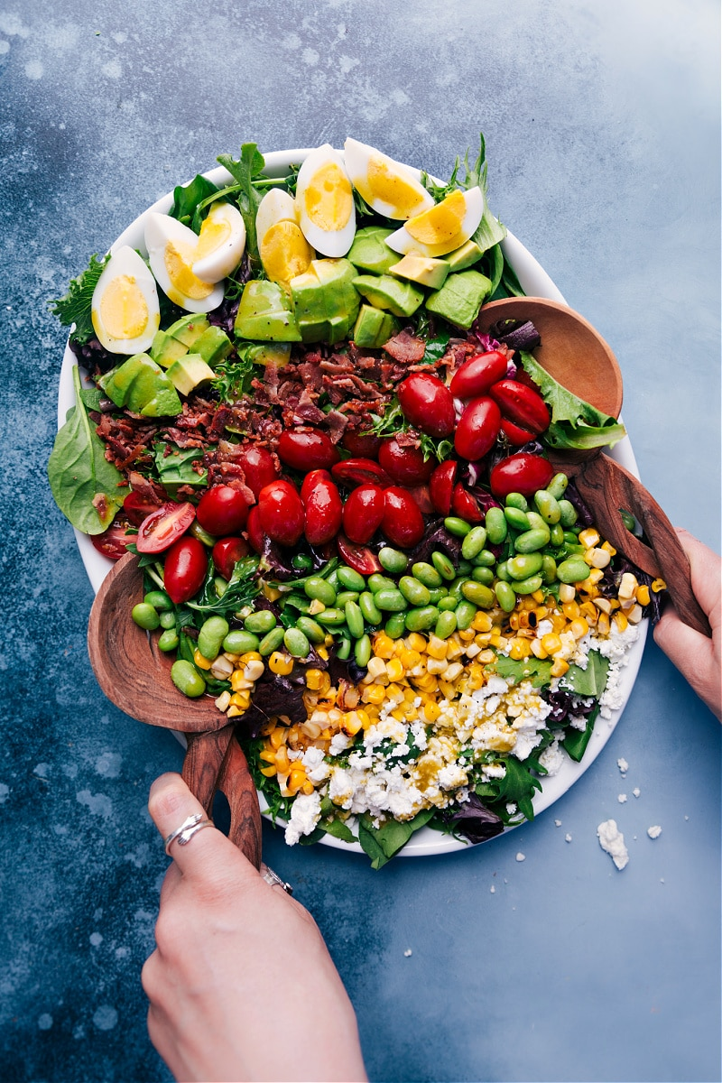 Cobb Salad with an herbed vinaigrette