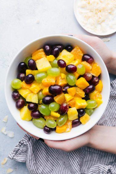 Pina Colada Fruit Salad