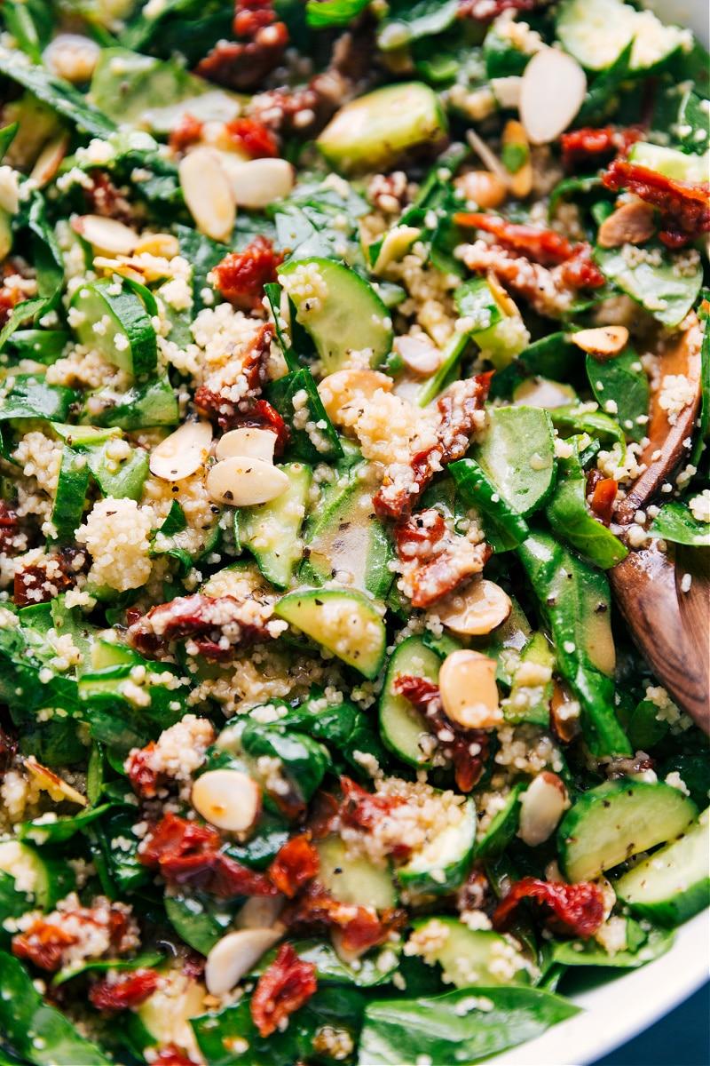 Sun-dried Tomato-Couscous Salad