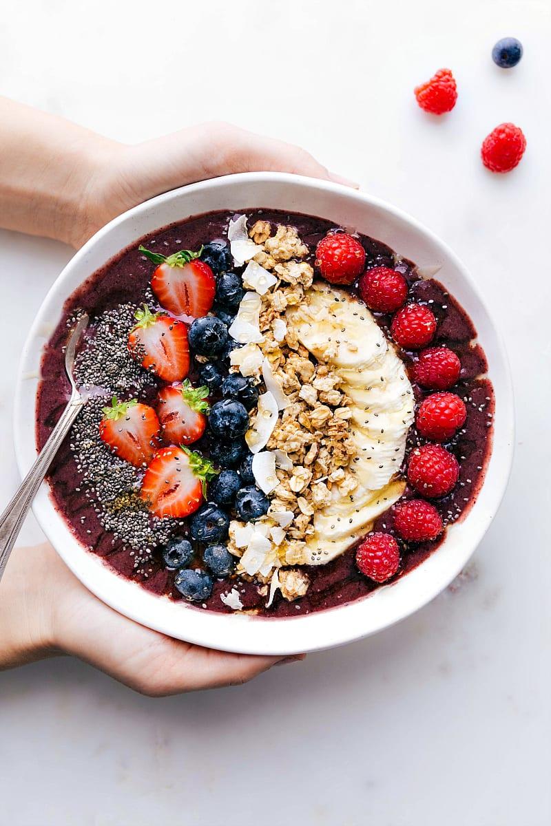 Acai Bowl 4 Delicious Recipes Chelsea S Messy Apron