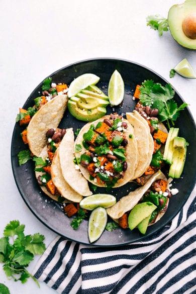 The BEST Vegetarian Tacos