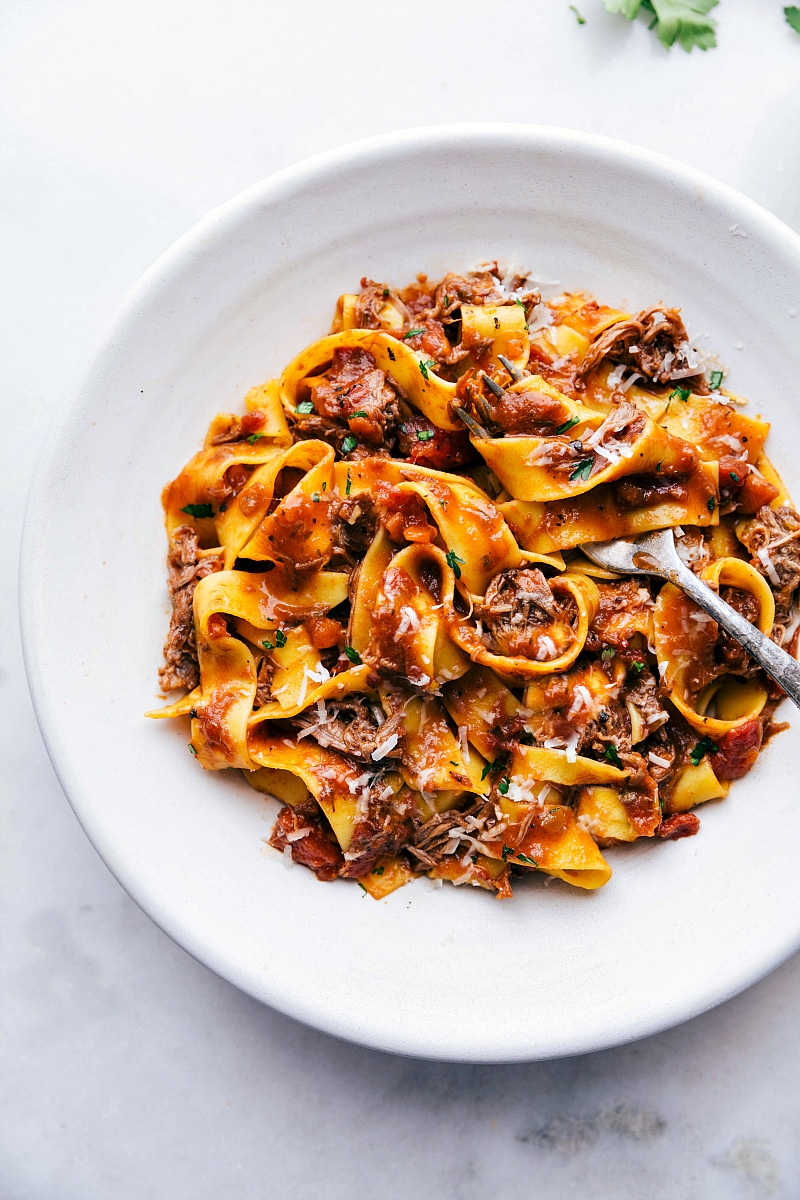 Beef Ragu {Crockpot Recipe}