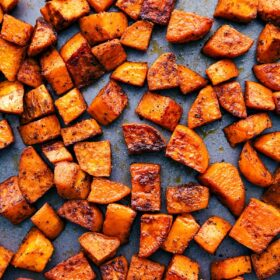 Roasted Sweet Potatoes | Chelsea's Messy Apron