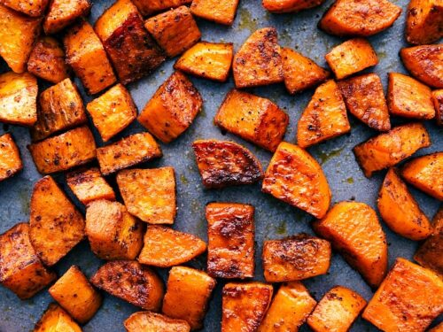 Roasted Sweet Potatoes Chelsea S Messy Apron