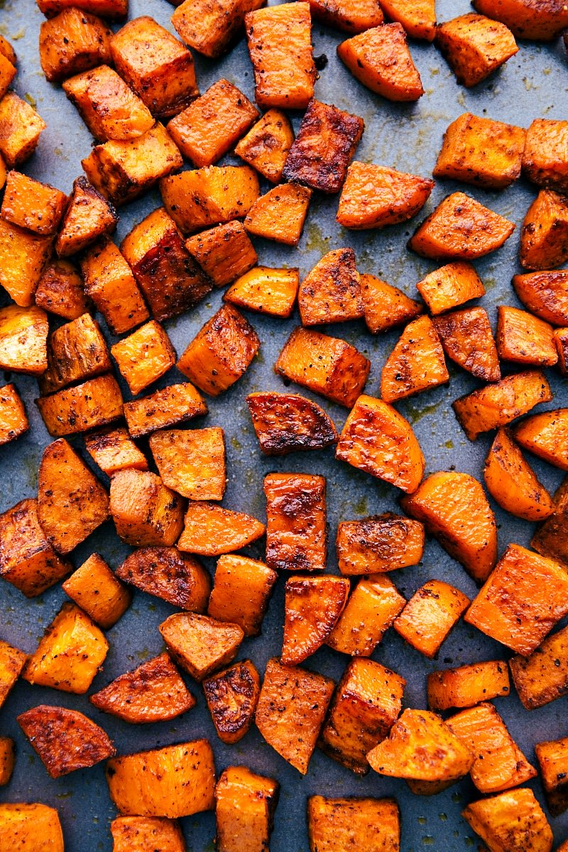 Roasted Sweet Potatoes Chelsea S Messy Apron