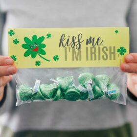 St Patrick's Day Treats {Free Printables}