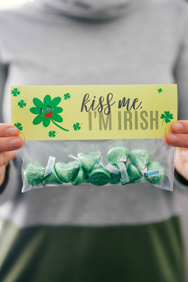 Kiss me I'm Irish bag
