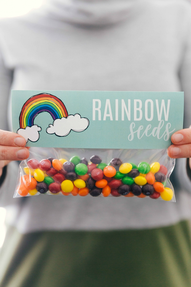 Rainbow seeds bag