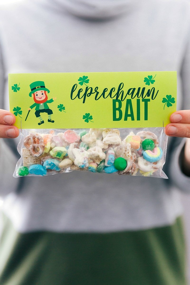 Leprechaun bait in a bag