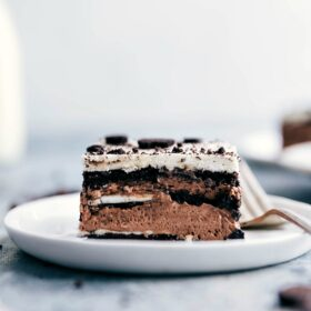 Icebox Cake {With Oreos!}