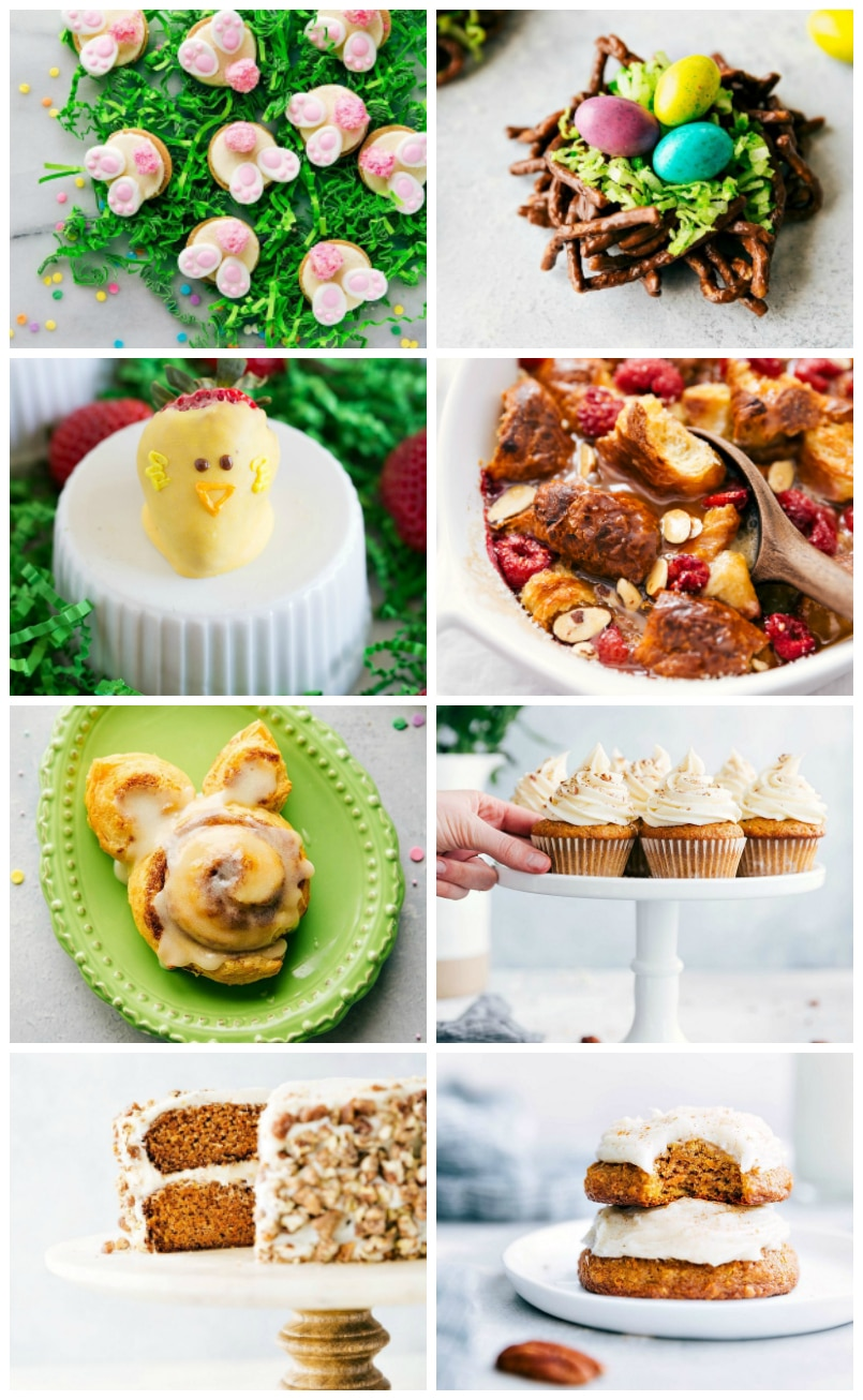 Pictures of 8 additional Easter Treats to make