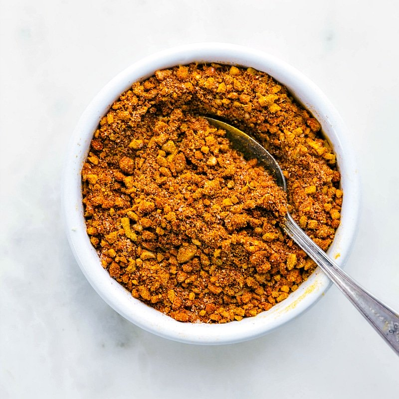 Chicken Tikka Masala spice blend that goes in the sauce and marinade.