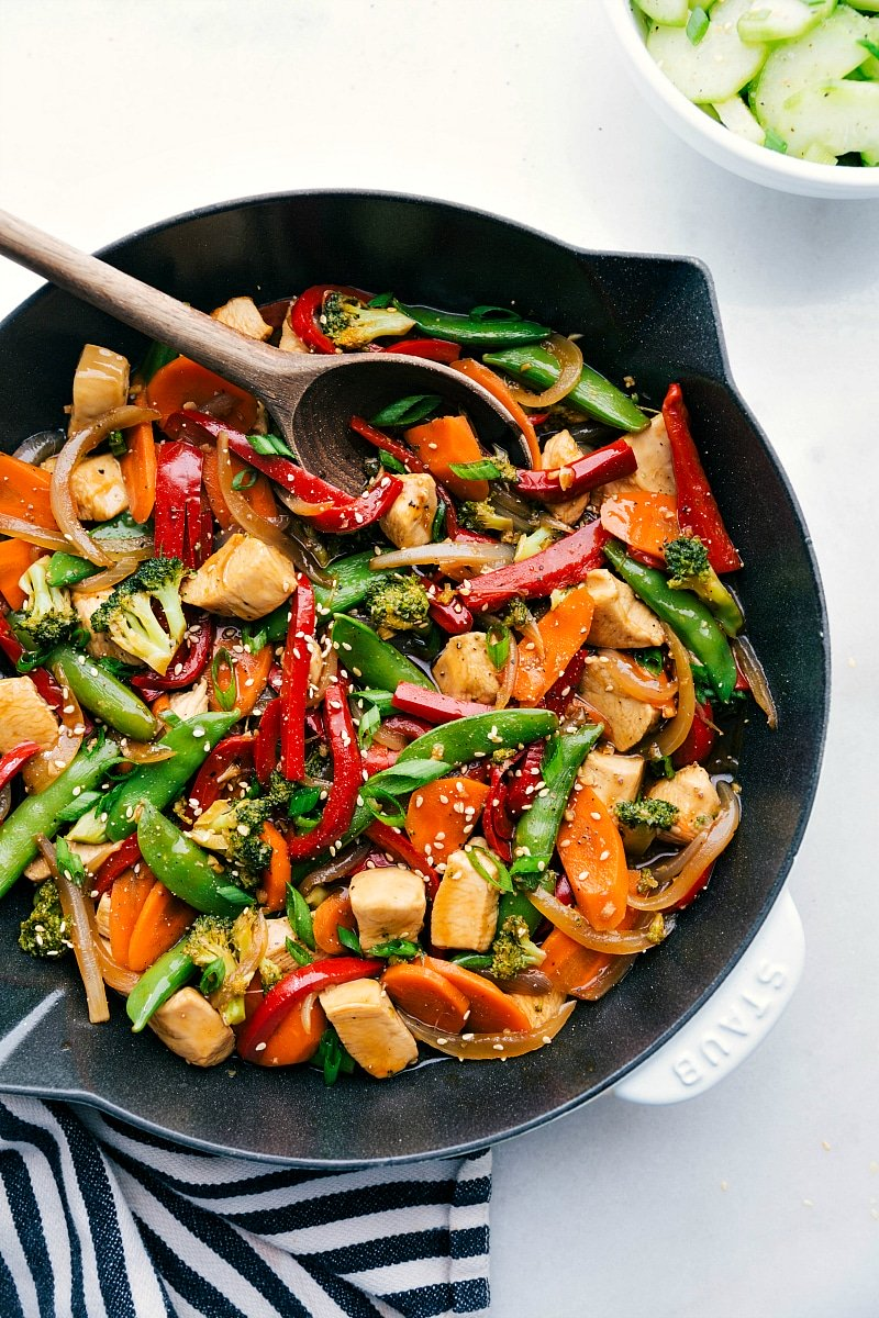 Chicken Stir Fry In 30 Minutes Chelsea S Messy Apron