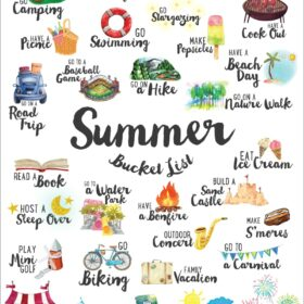 FREE Summer Bucket List