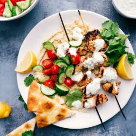 Shish Tawook (Chicken on Skewers)