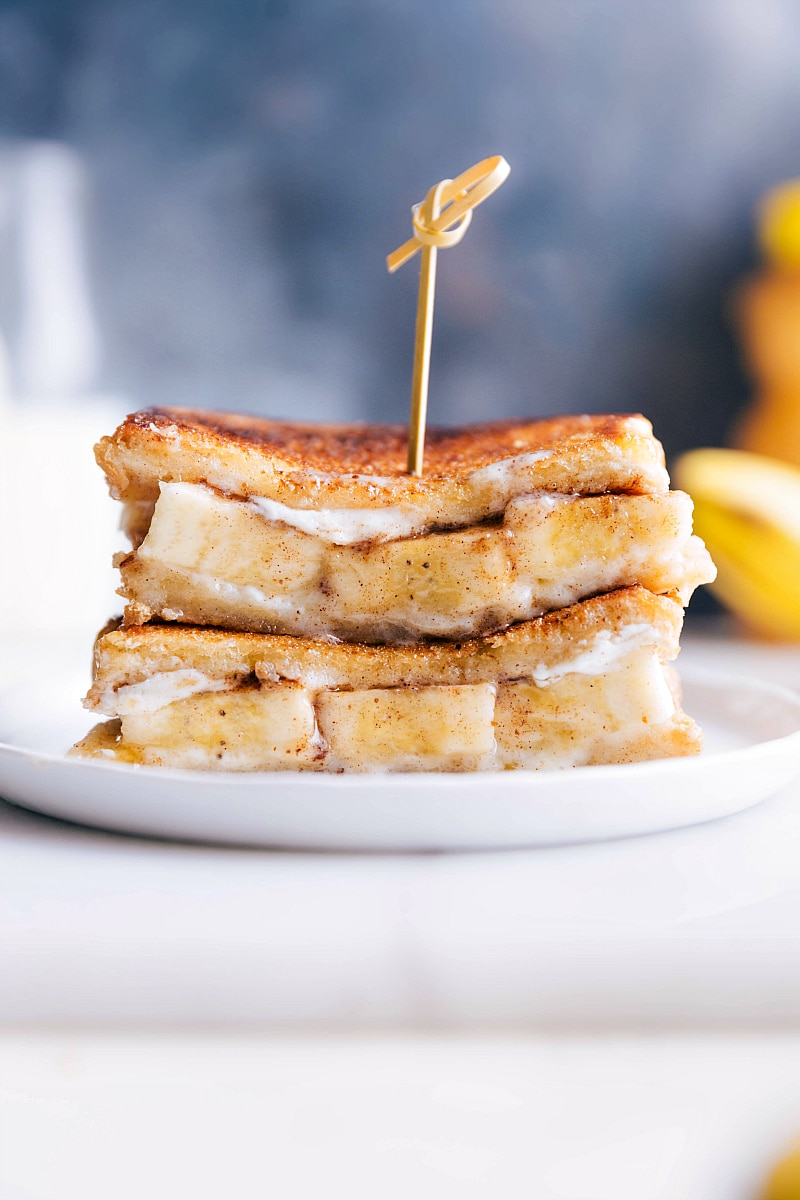 Honey and Banana Sandwich