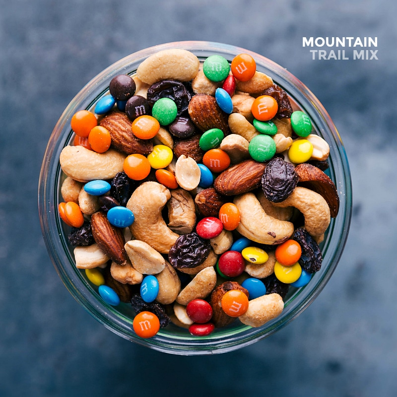 Overhead view of Mountain Trail Mix.