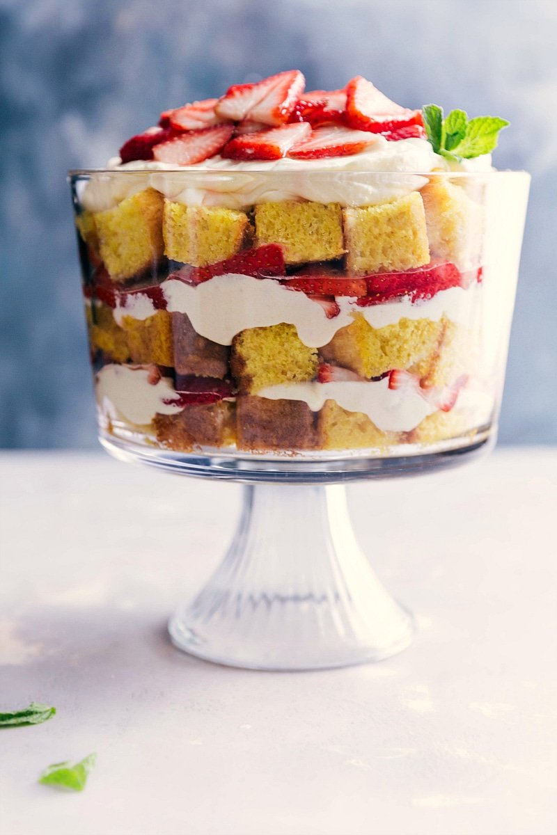 Strawberry Shortcake Trifle Chelsea S Messy Apron