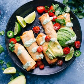 Southwest Egg Rolls (Air Fryer Recipe!)