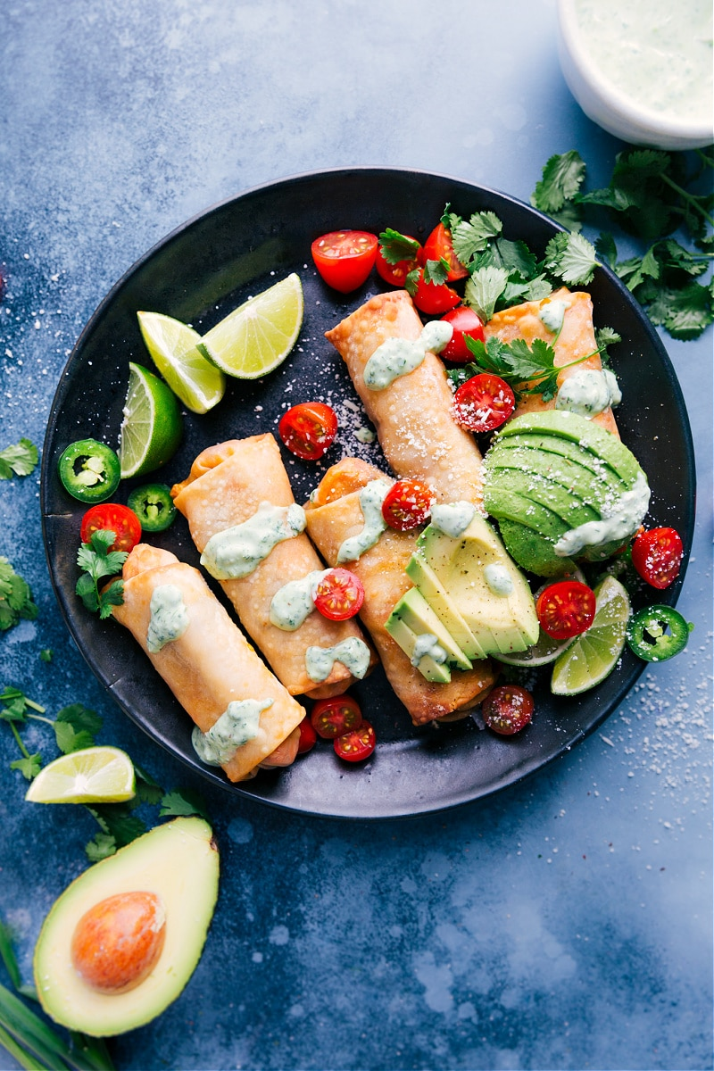 Flavor-packed Southwest Egg Rolls are healthier than most egg rolls because we make them in an air fryer! No air fryer? No worries, I'll share some other ideas to still get all the goodness these egg rolls provide.