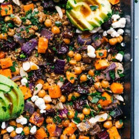 Sheet Pan Quinoa Pilaf