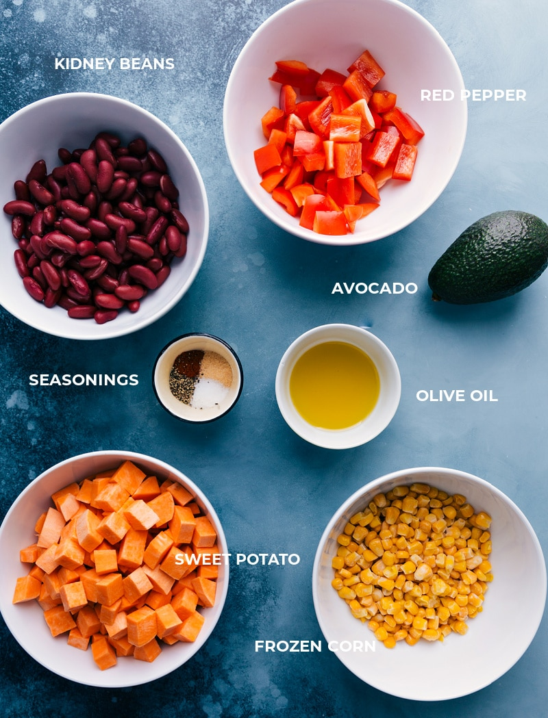 Ingredient shot--elements of this recipe