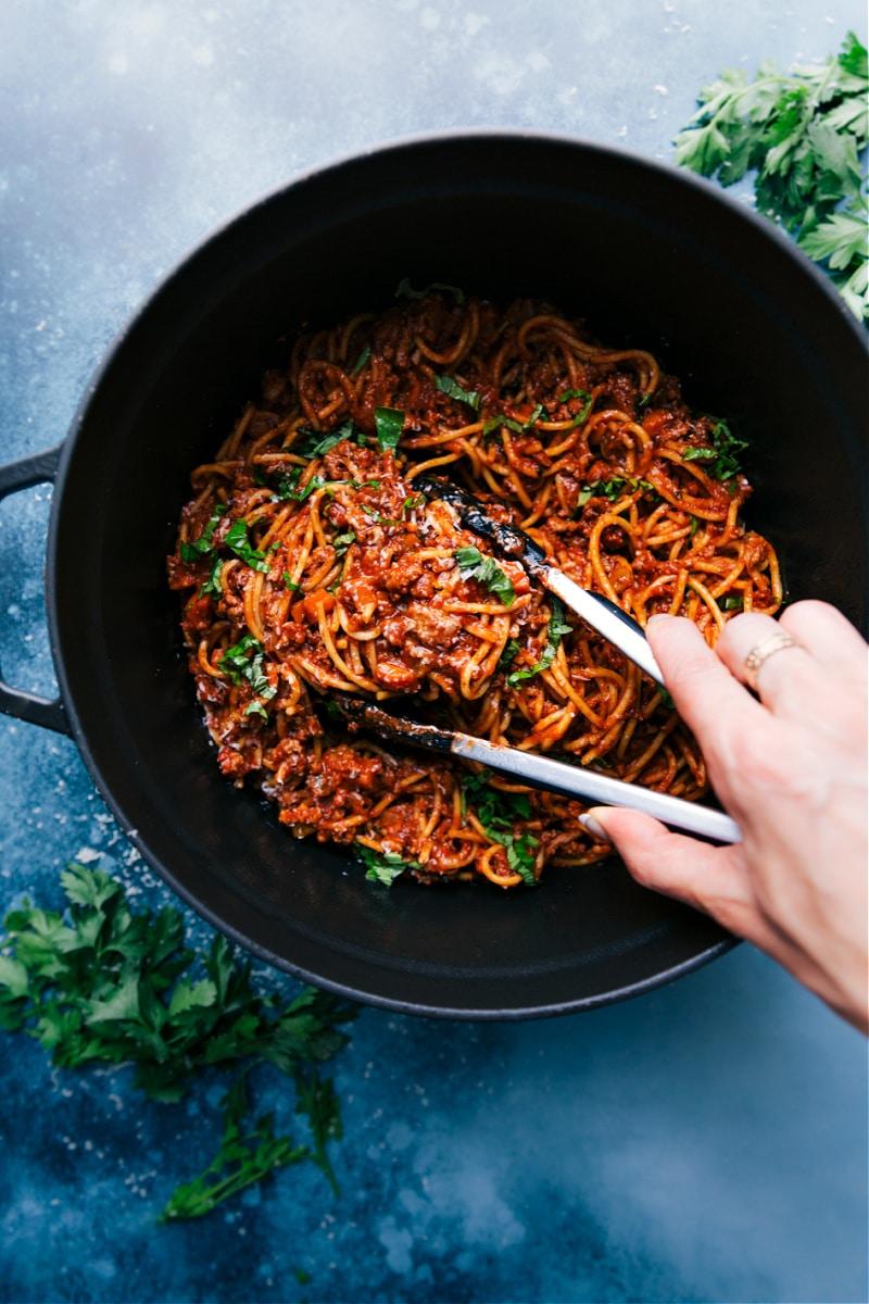 One-Pot Spaghetti