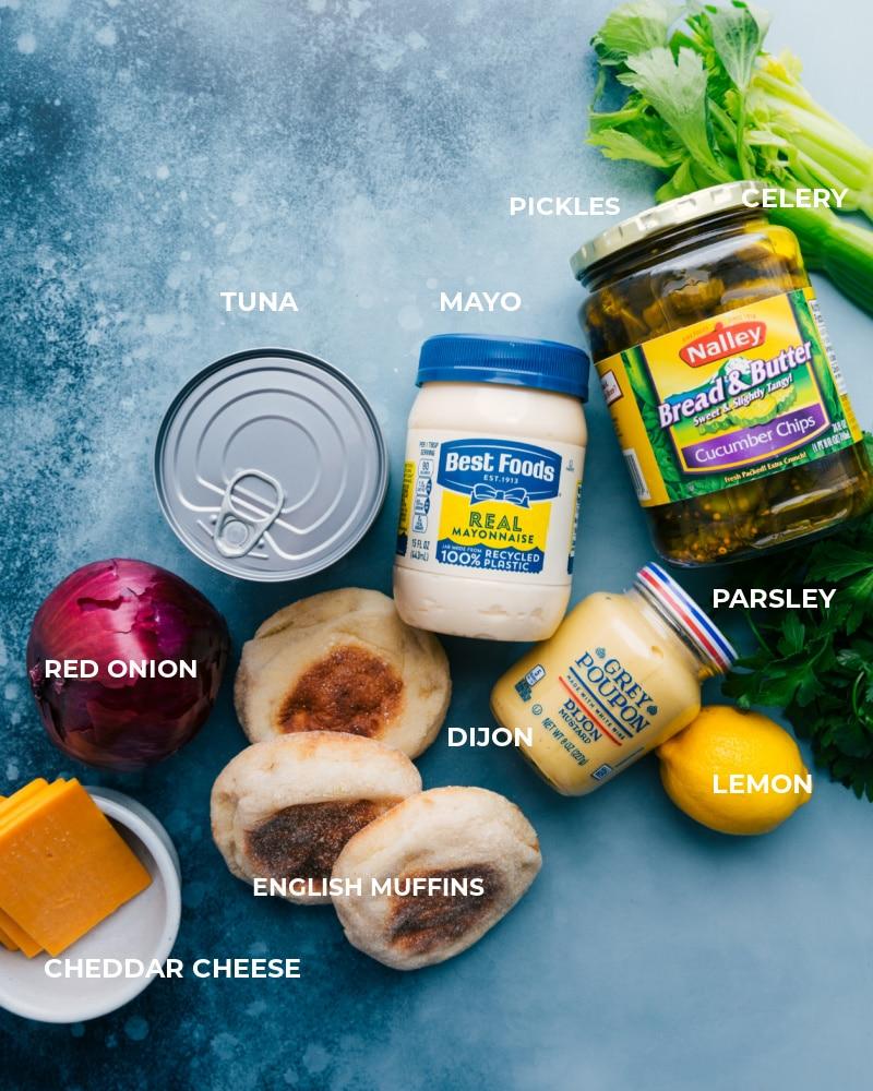 Ingredient shot--image of the ingredients in this dish