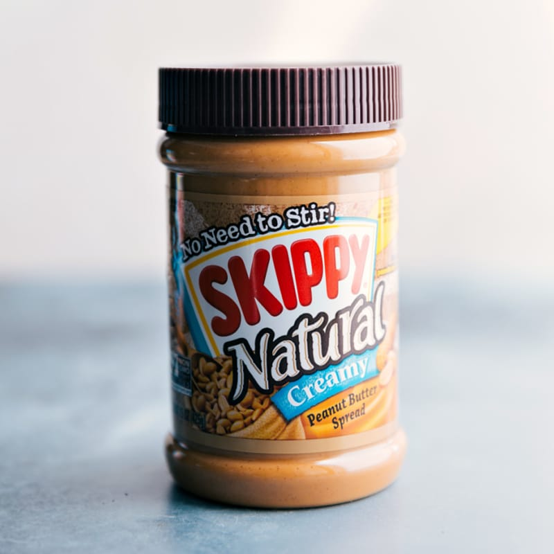 Image of the peanut butter used in this recipe