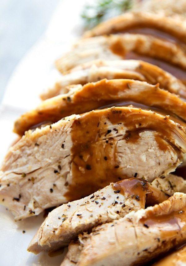 Easy Crockpot Turkey