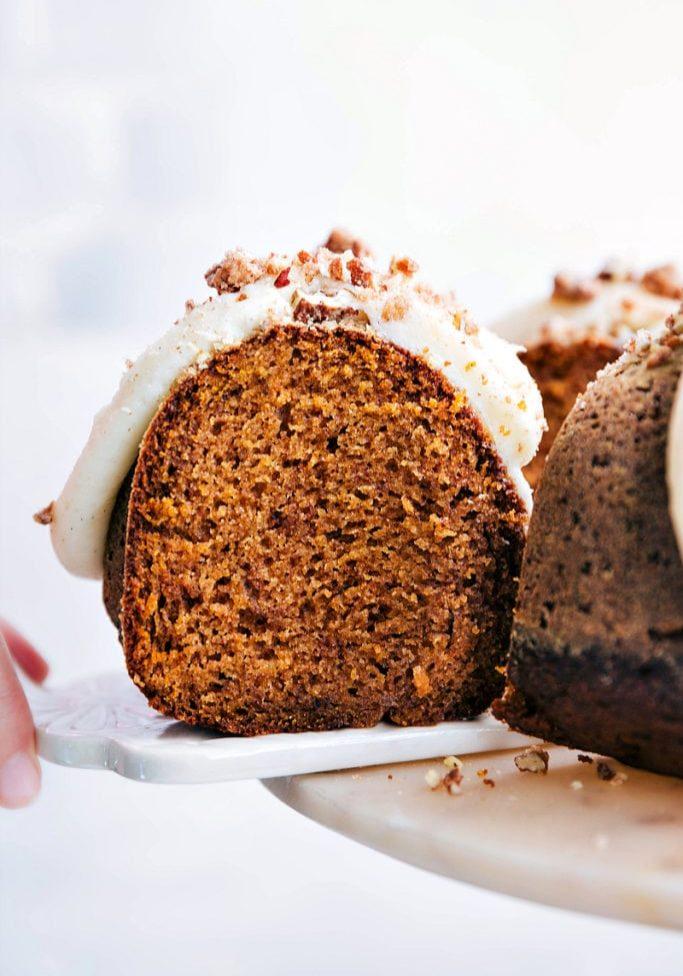 The BEST Pumpkin Cake2