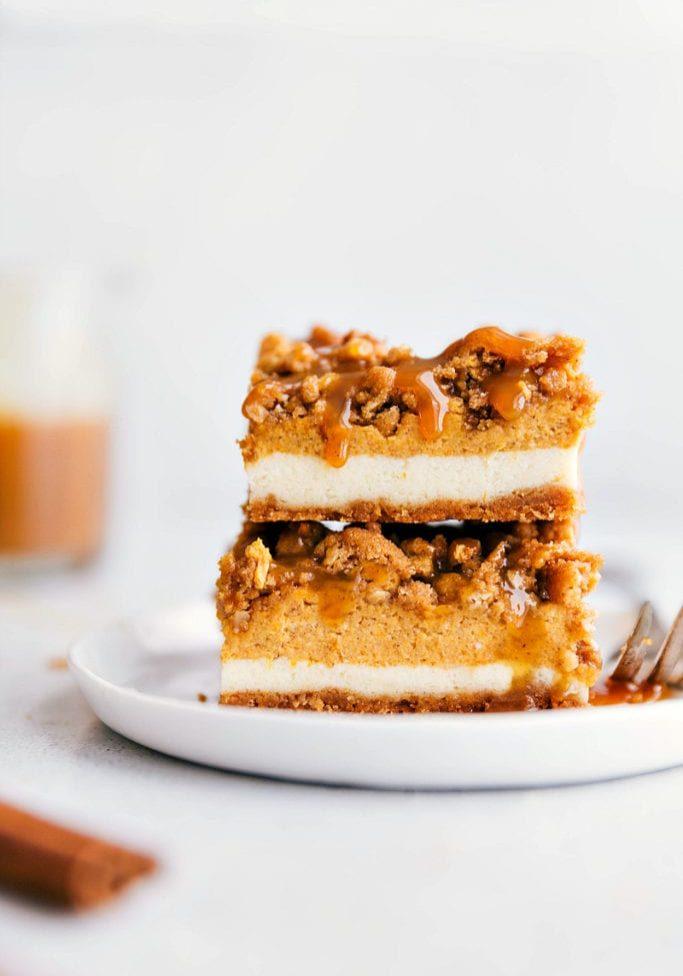 The BEST Pumpkin Cheesecake Bars1